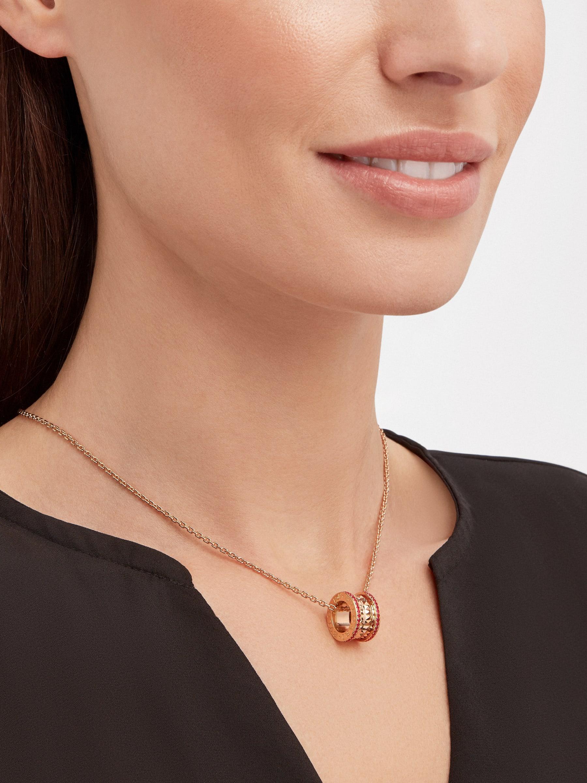 BVLGARI BVLGARI 18K 玫瑰金翻轉式戒指,鑲飾翡翠和密鑲鑽石。 358306 image 4