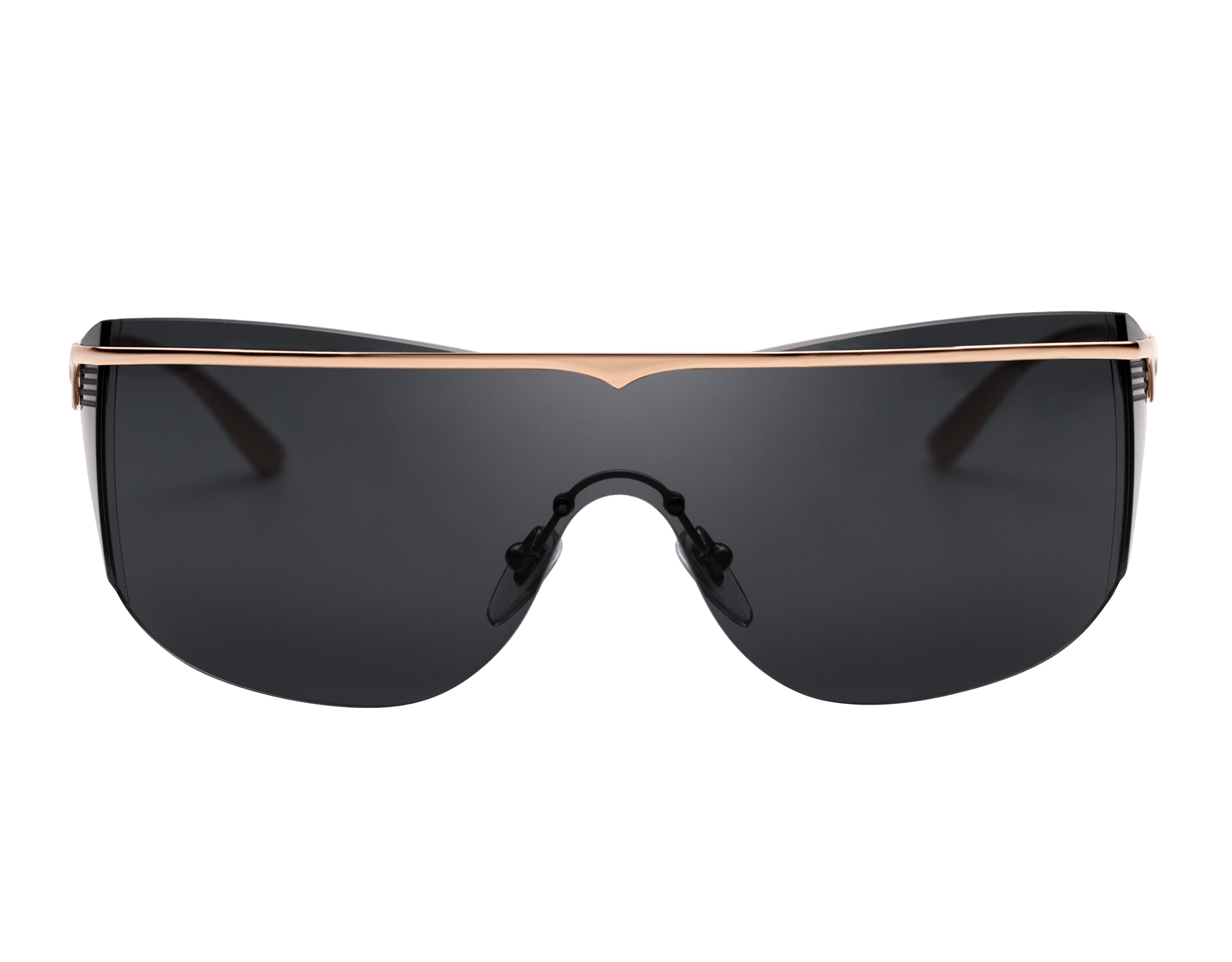 Bulgari B.zero1 B.supercurve metal shield sunglasses. 903964 image 2