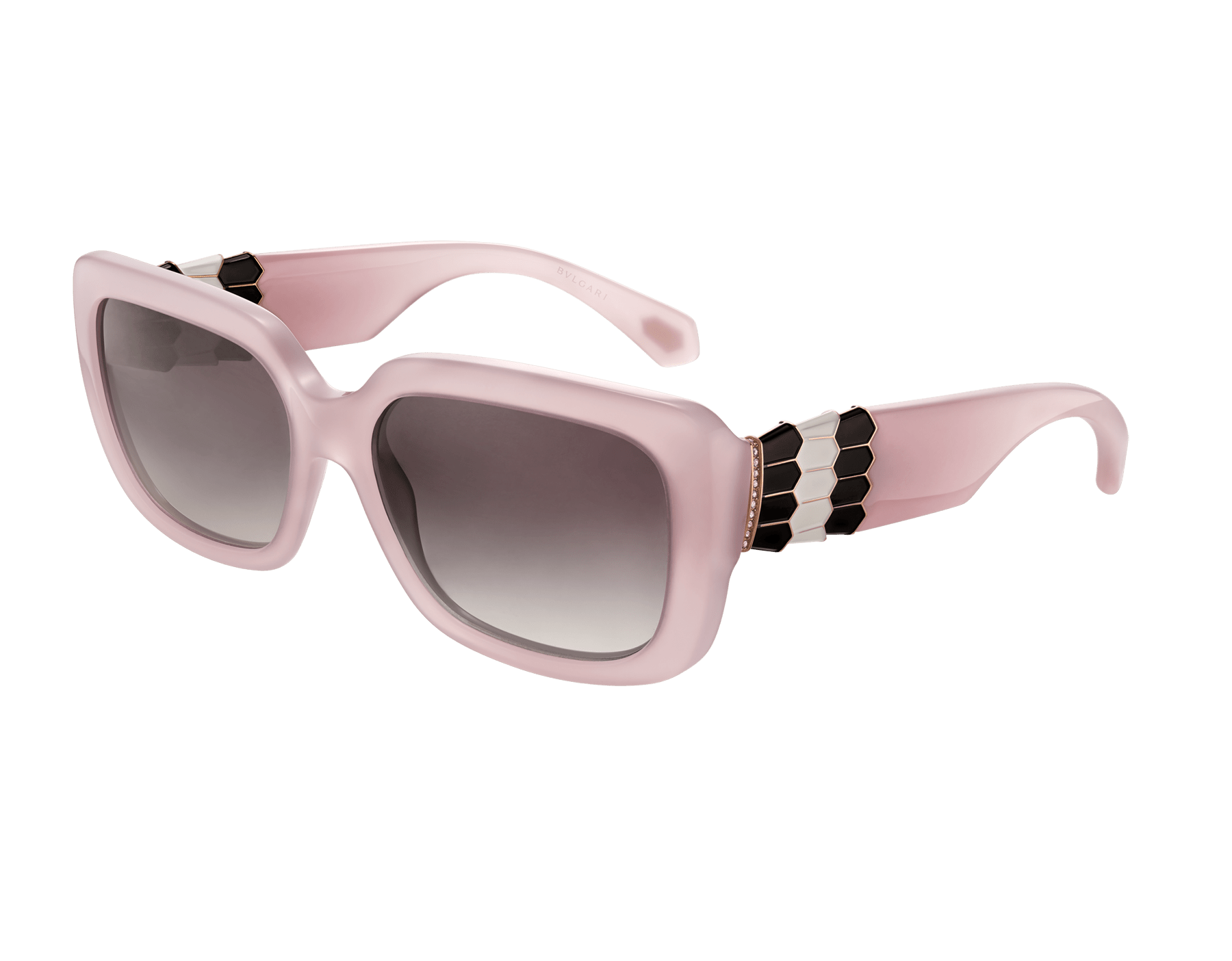 Bulgari Serpenti Back-to-scale rectangular acetate sunglasses. 903969 image 1