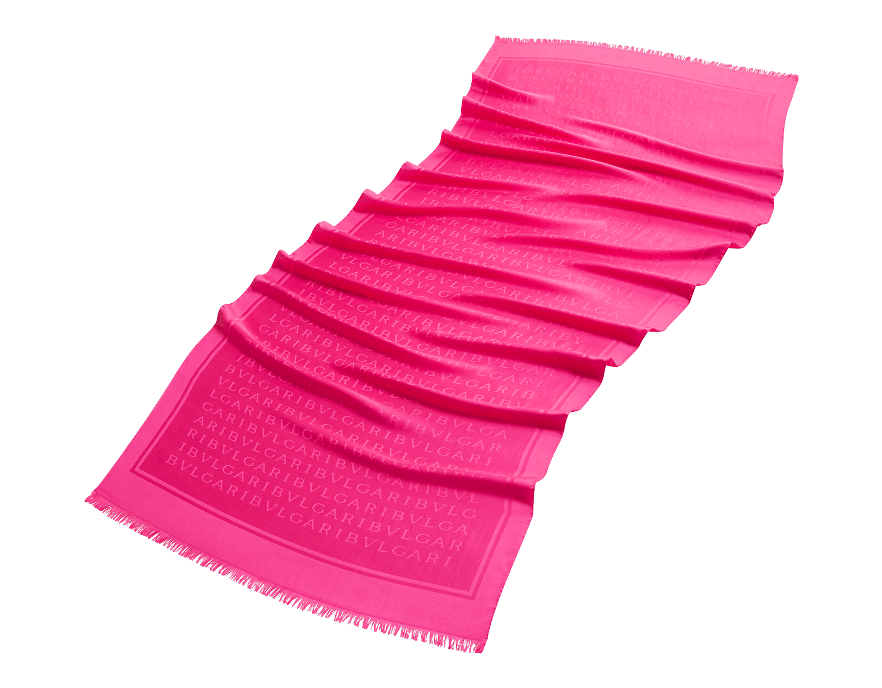 """Lettere Maxi Light"" Stola in pinkem Flash Amethyst aus feiner Seide. 244052 image 1"