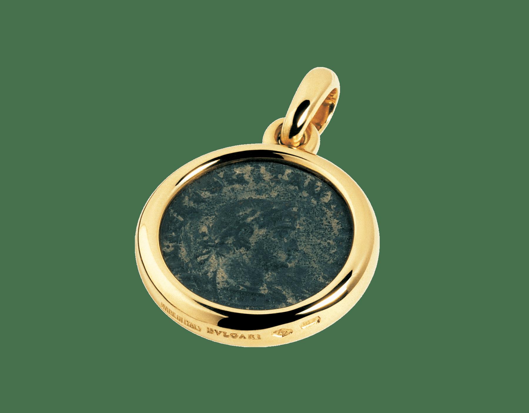 Pendentif Monete en or jaune 18K avec une pièce de monnaie antique 309243 image 1