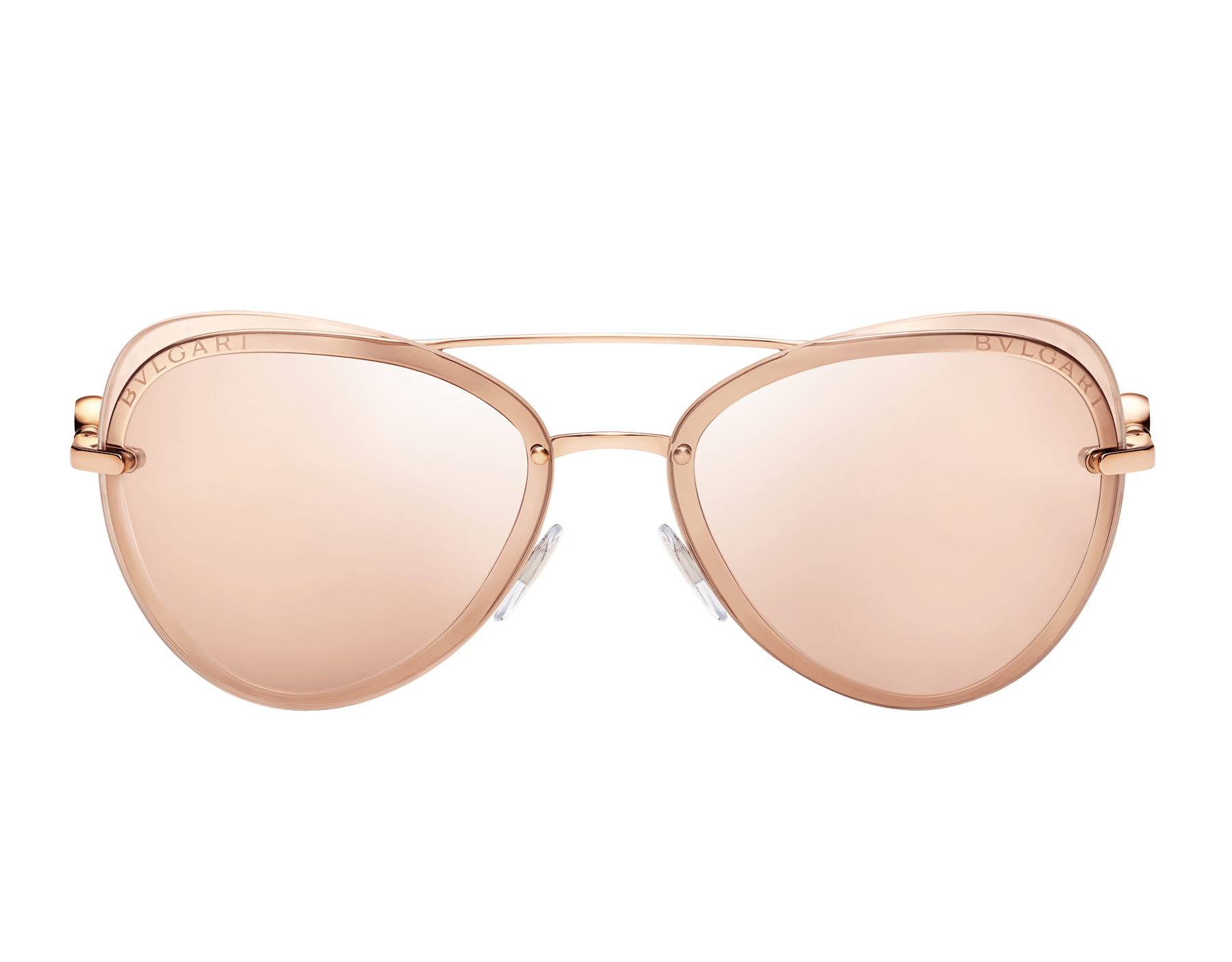 "Bvlgari Bvlgari ""On Me"" metal aviator sunglasses 904080 image 2"