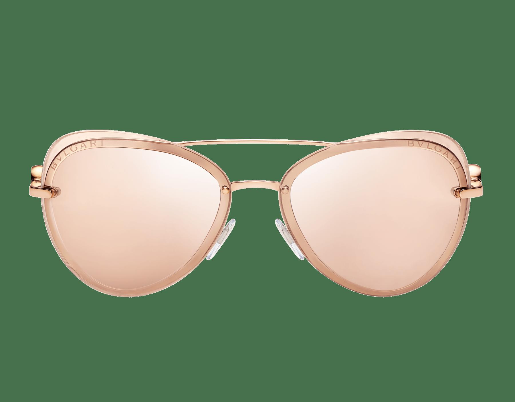 نظارات طيار شمسية بولغري بولغري «أون مي» معدنية 904080 image 2