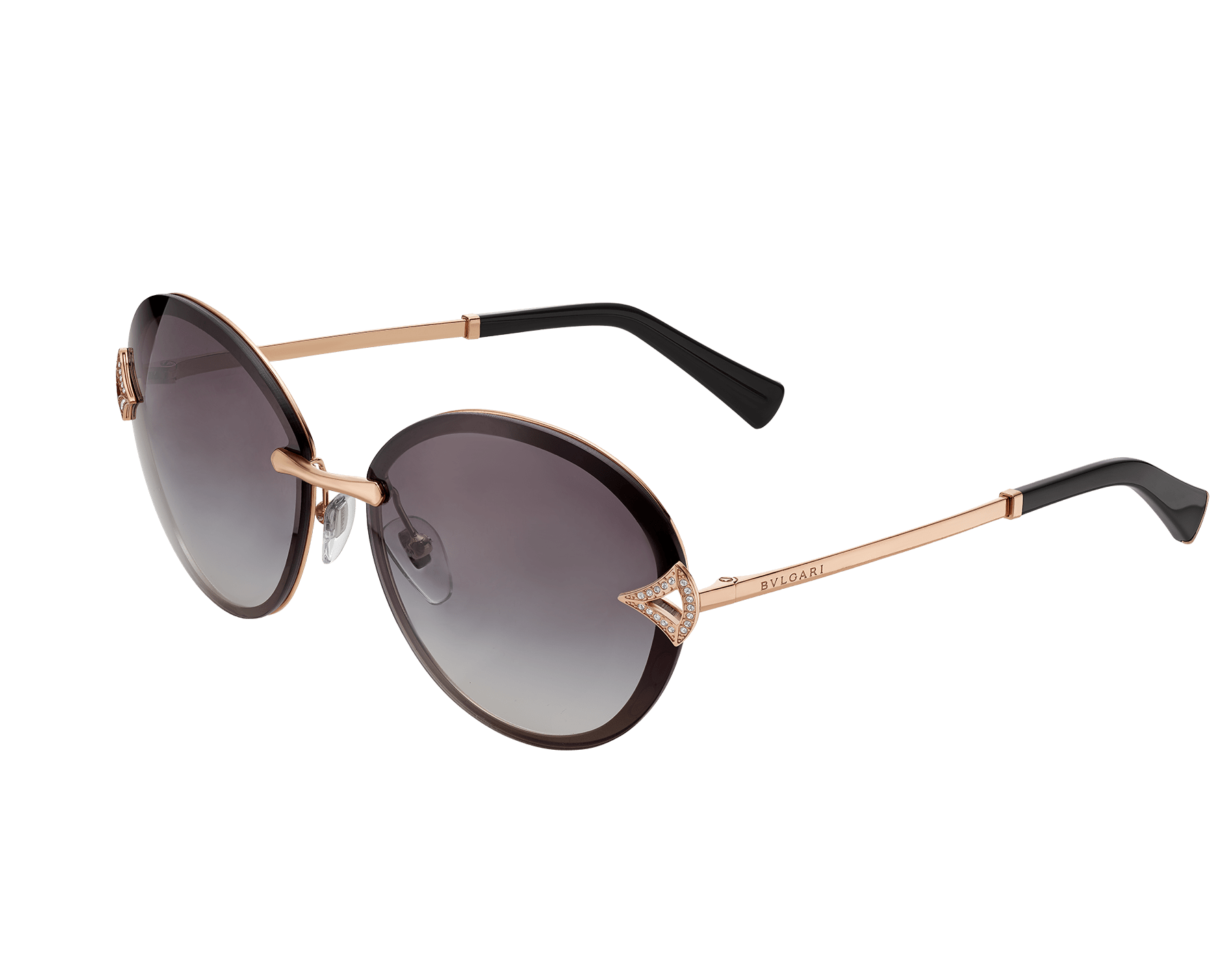 DIVAS' DREAM oval metal sunglasses. 903393 image 1