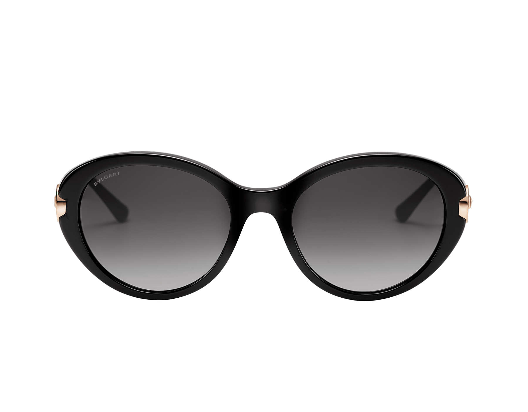 BVLGARI BVLGARI oval acetate sunglasses with metal décor and crystals. 903797 image 2