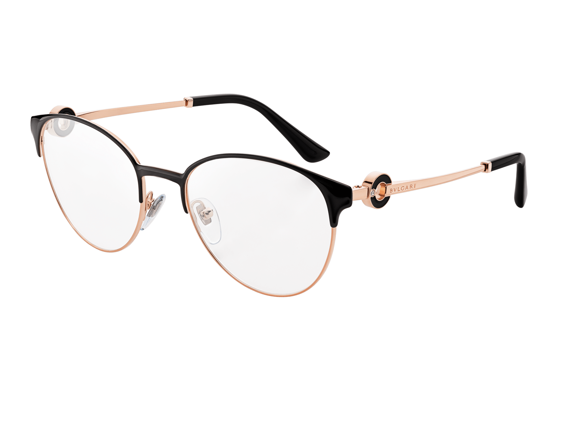 "Bvlgari Bvlgari ""On-Me"" round metal glasses. 904048 image 1"