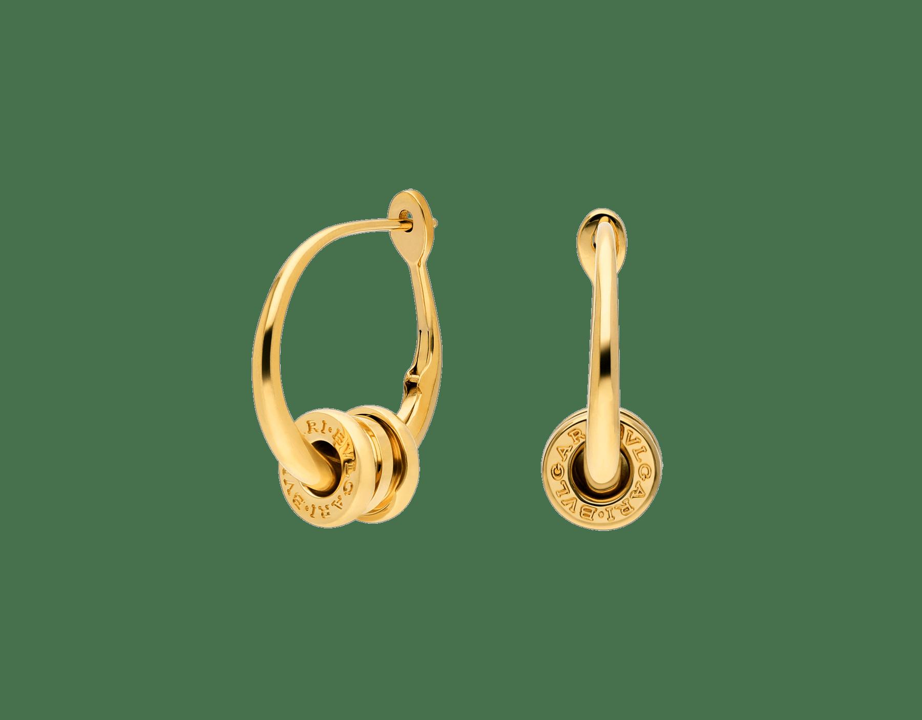 B.zero1系列圆圈耳环,18K黄金材质。 357497 image 1