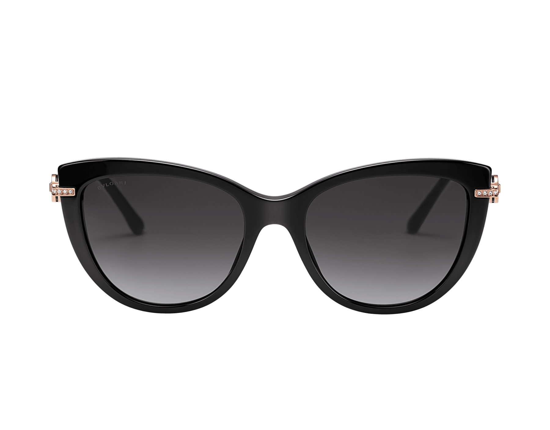 BVLGARI BVLGARI cat-eye acetate sunglasses with metal décor and crystals. 903800 image 2