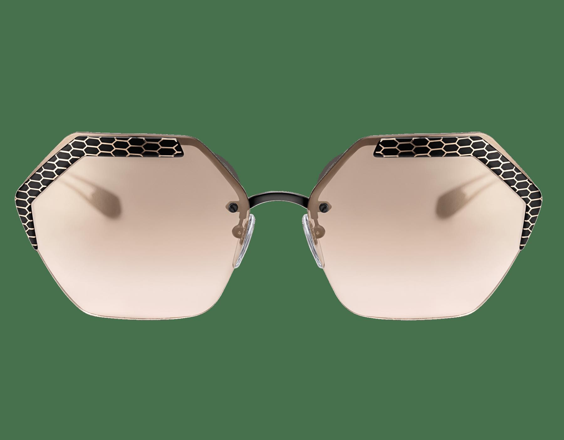 نظارات شمسية سيربينتايز ريفولوشن معدنية سداسية الشكل منحنية. 904007 image 2