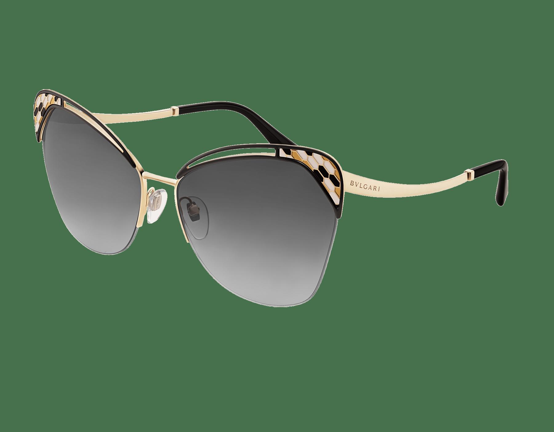 "Serpenti ""Colourhapsody"" metal butterfly sunglasses 904070 image 1"