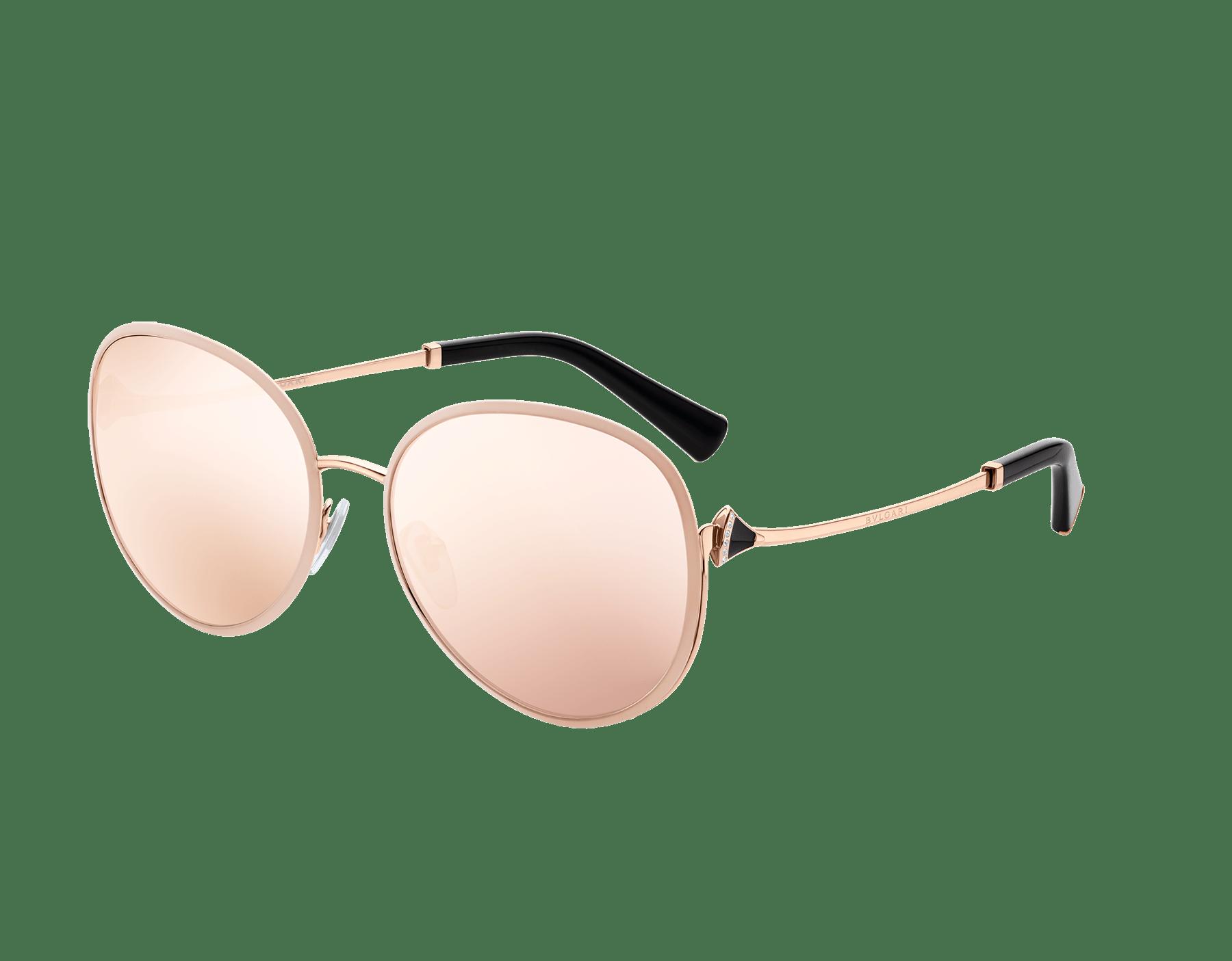 Óculos de sol Divas' Dream com formato redondo em metal. 903596 image 1