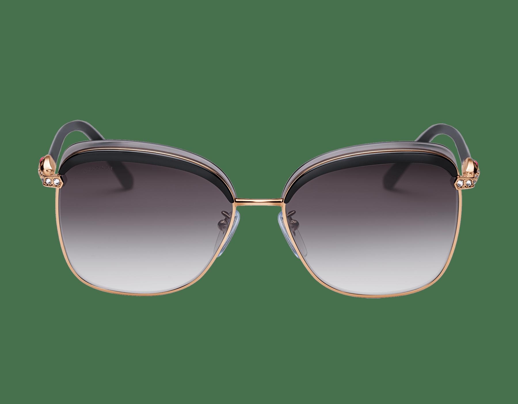 Bvlgari Serpenti squared metal sunglasses. 903659 image 2