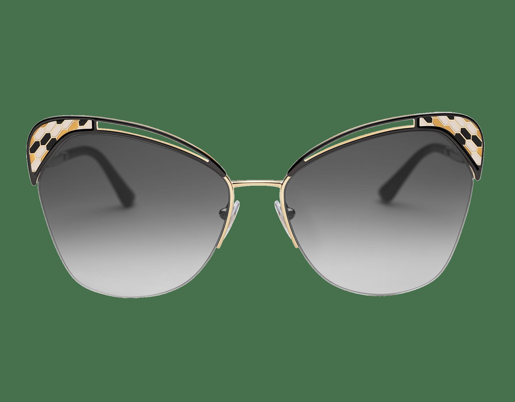 "Serpenti ""Colourhapsody"" metal butterfly sunglasses 904070 image 2"
