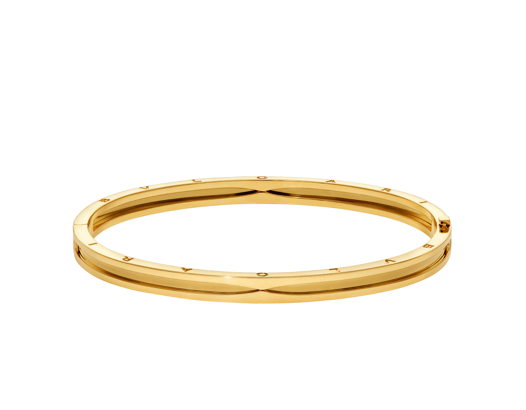 B.zero1 18 kt yellow gold bangle bracelet BR858726 image 2