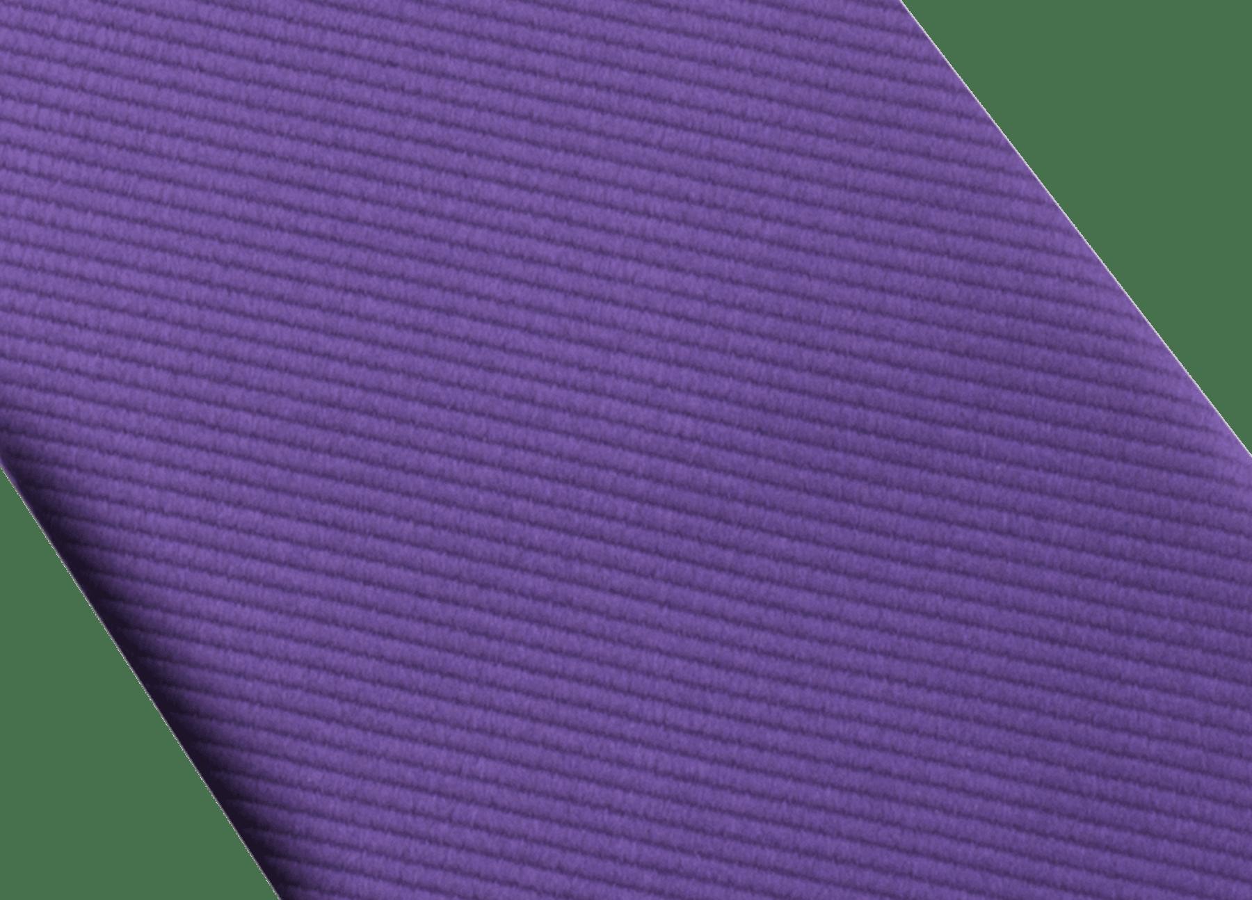 Gravata de sete dobras violeta com padrão Bvlgari Colors em fina seda. 243873 image 2