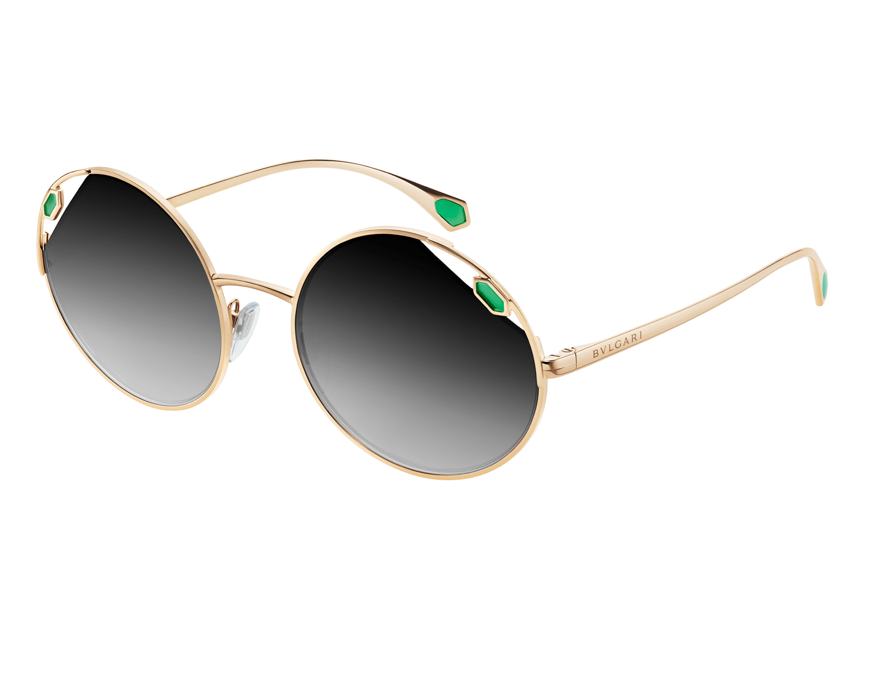 "Serpenti ""True Colors"" round metal sunglasses Truecoloursround image 1"