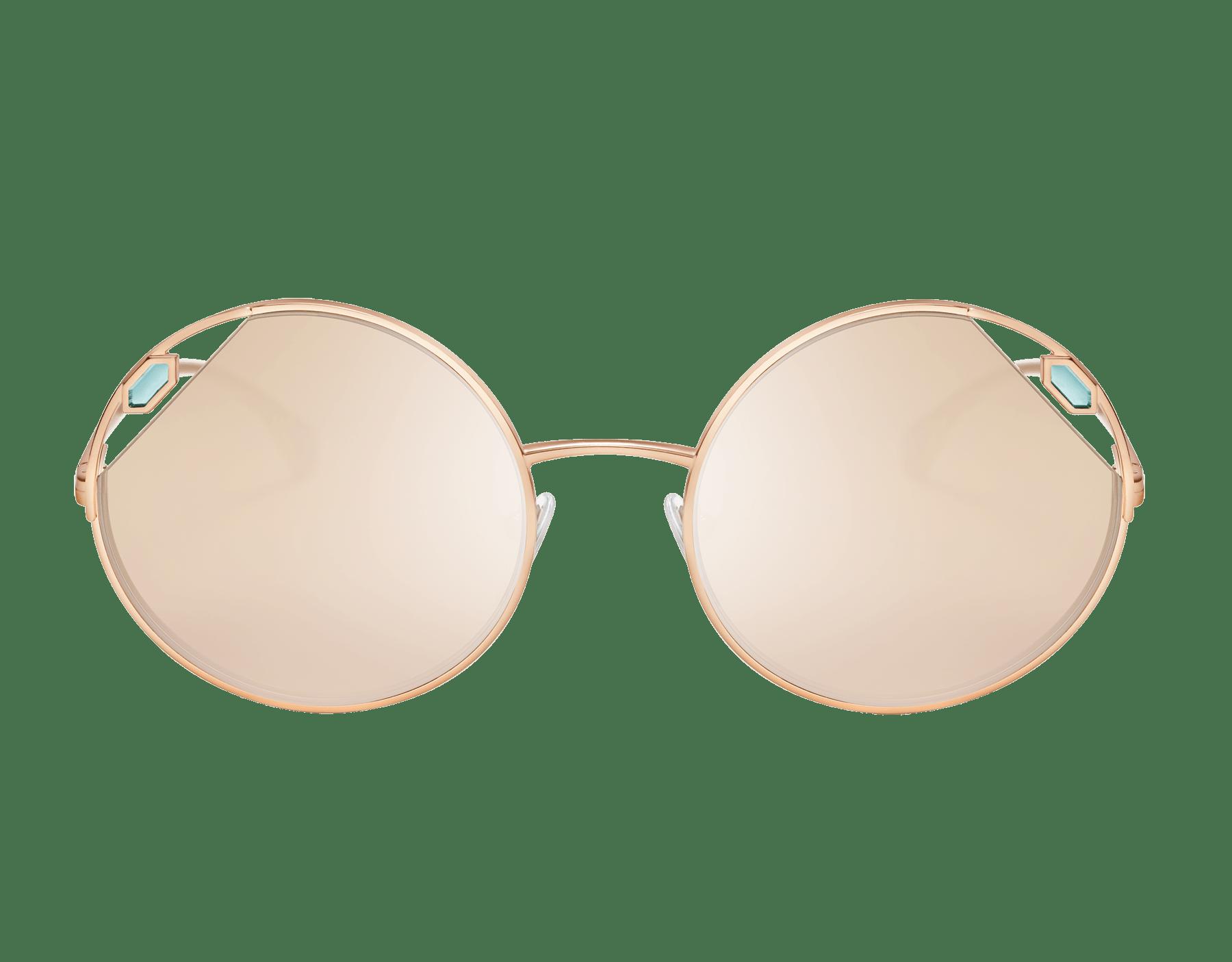 "Serpenti ""True Colours"" round metal sunglasses Truecoloursround image 2"