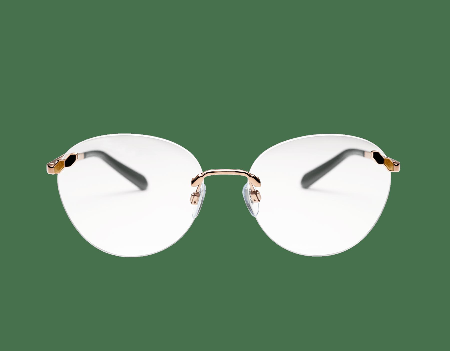 Bvlgari Serpenti round rimless glasses. 903879 image 2