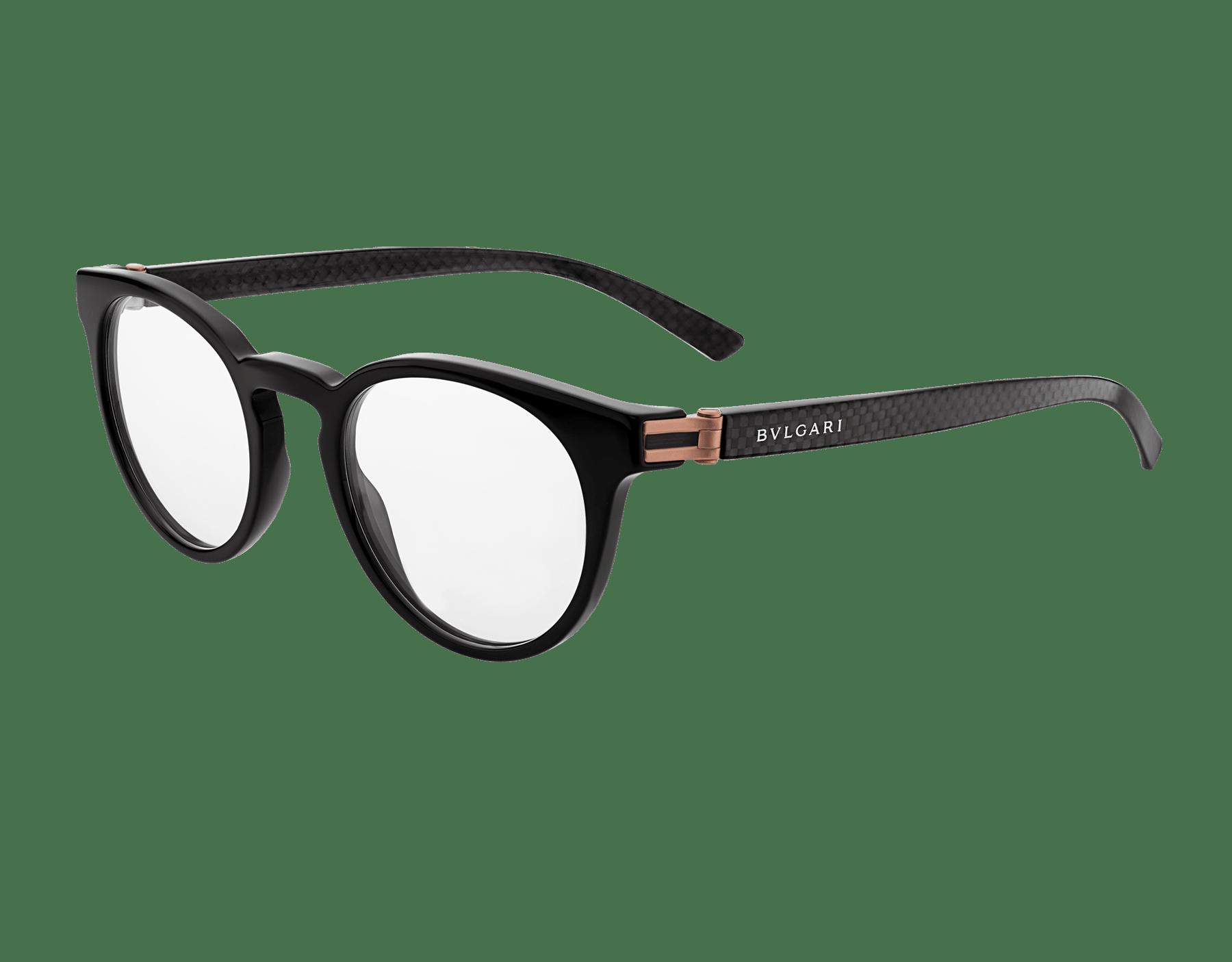 Óculos redondos Bvlgari Diagono em acetato. 903923 image 1