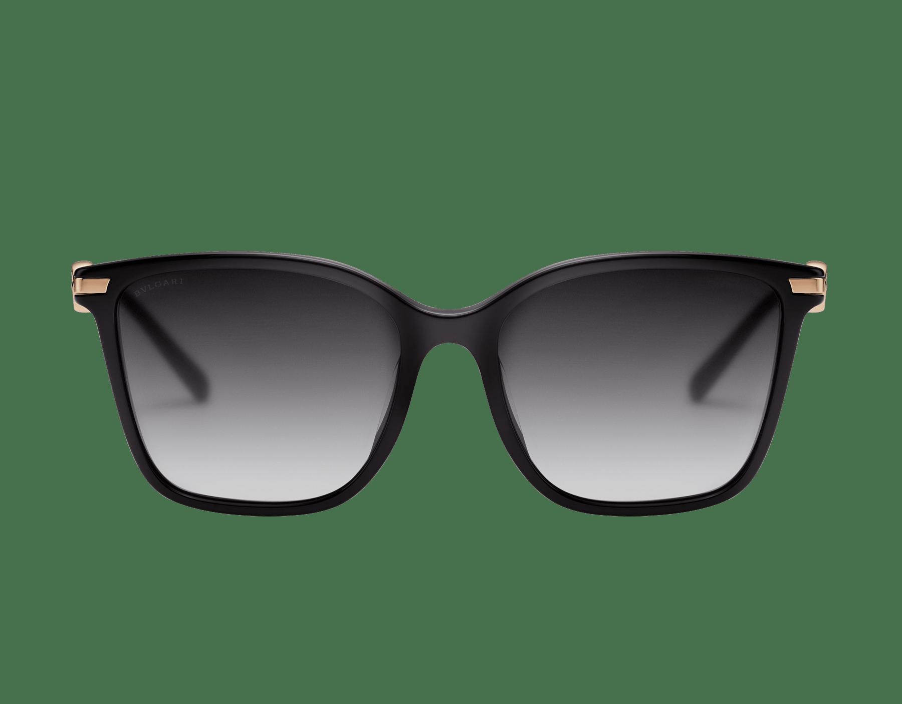 BVLGARI BVLGARI squared acetate sunglasses with metal décor. 903827 image 2