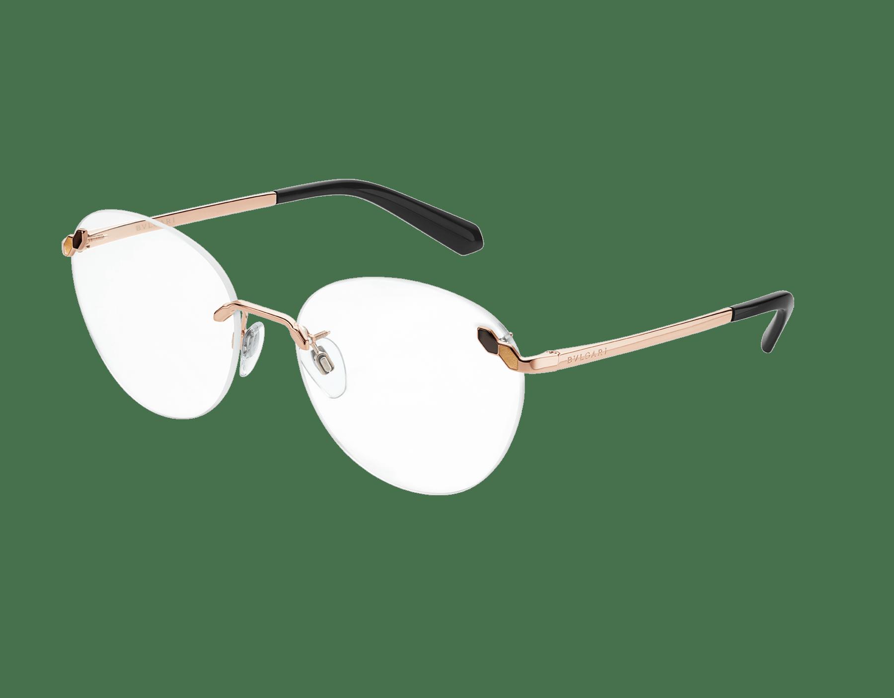 Bvlgari Serpenti round rimless glasses. 903879 image 1