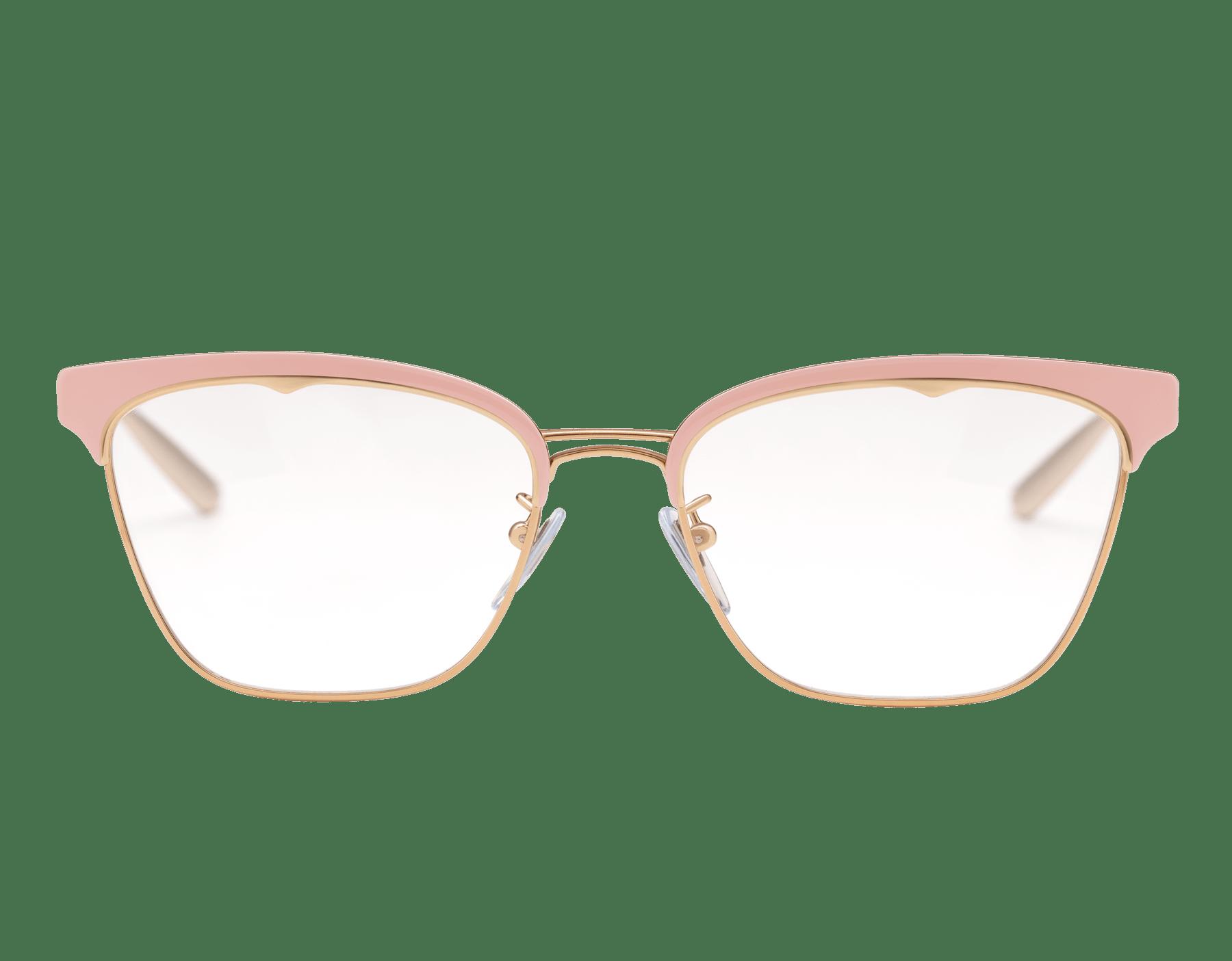 نظارات بولغري بي.زيرو1 بي.غلاسي-أب معدنية مستطيلة الشكل. 904015 image 2
