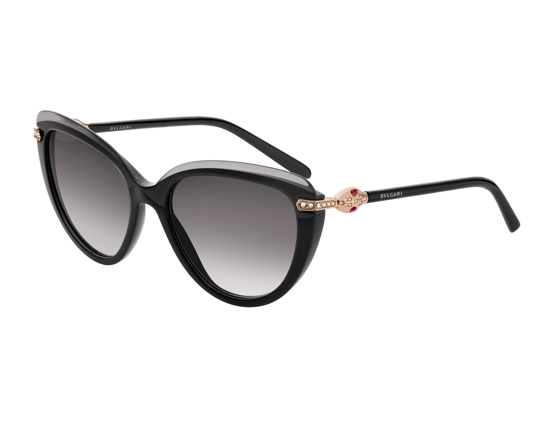 Bulgari Serpenti cat-eye acetate sunglasses. 903656 image 1