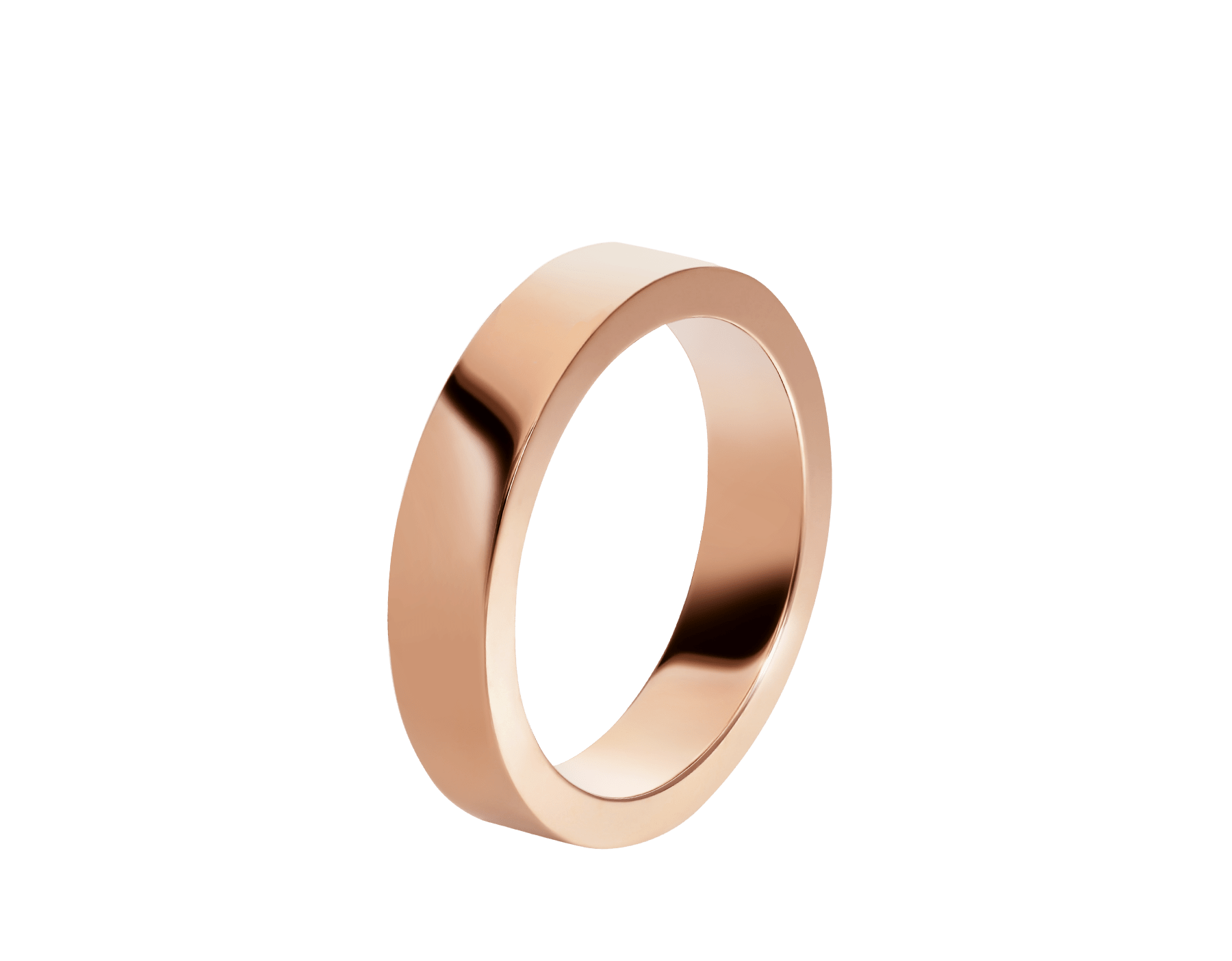 MarryMe 18 kt rose gold wedding band AN858410 image 1