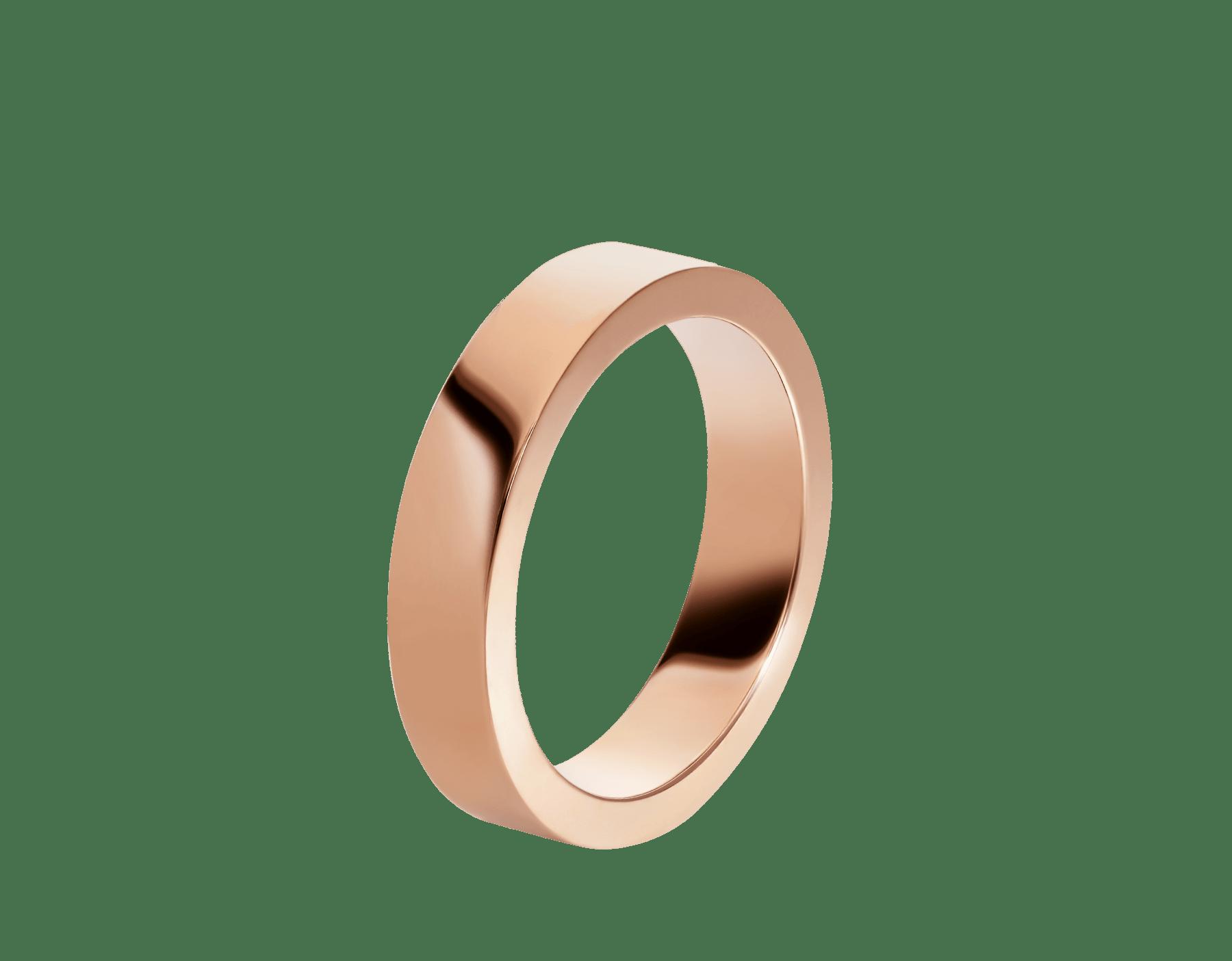 Fede nuziale MarryMe in oro rosa 18 kt. AN858410 image 1