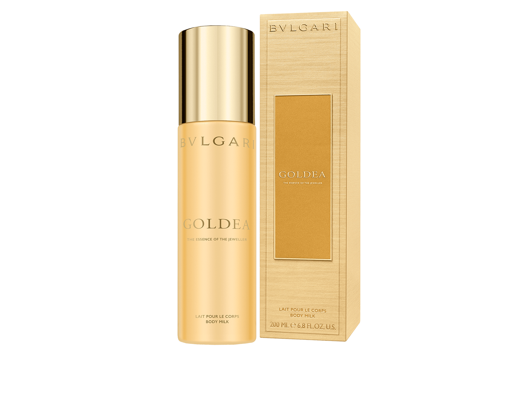 Creamy and gentle like a caress and delicately scented with Goldea notes, the body milk pampers the skin leaving a warm and sensual trail. A perfect act to prolong the wake of the fragrance. 50521 image 2