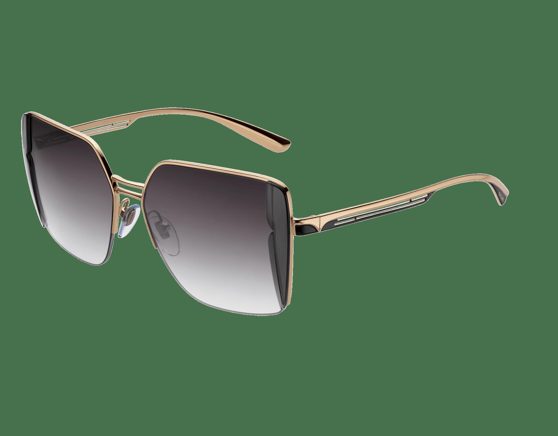 Bulgari B.zero1 B.purebright metal squared sunglasses. 903960 image 1