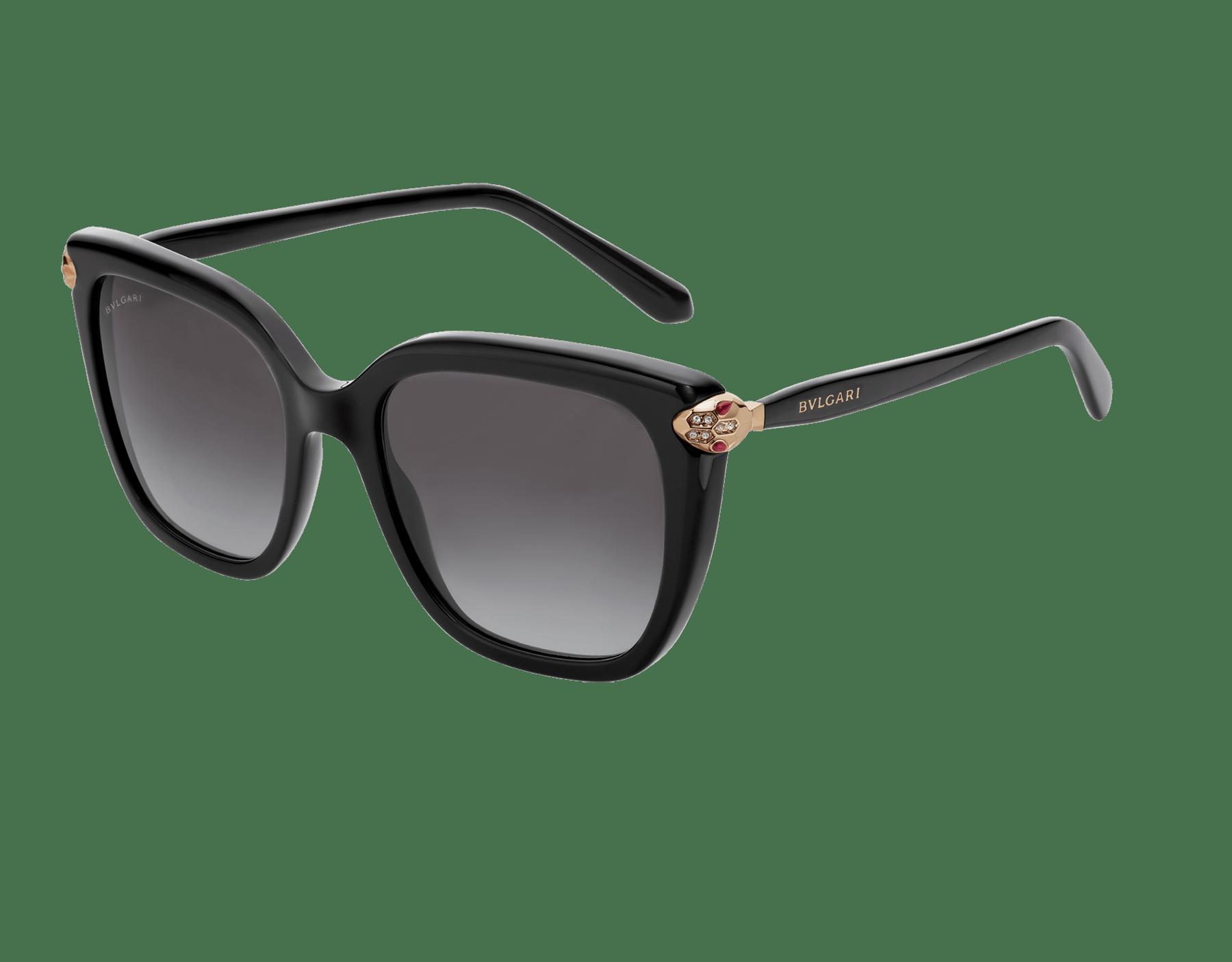 Serpenti 方形醋酸纖維太陽眼鏡。 903559 image 1