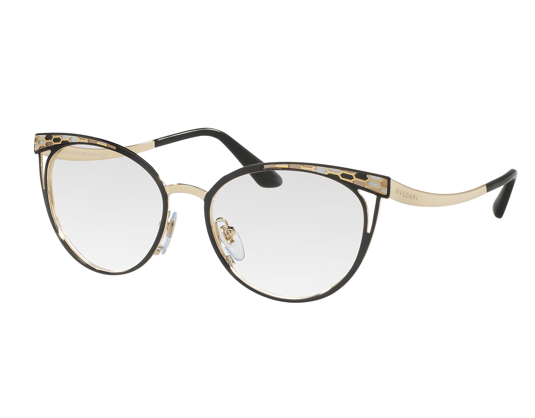 Serpenti catye metal eyeglasses 903116 image 1