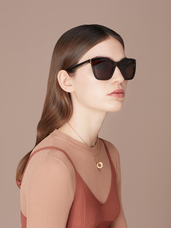 "B.zero1 ""Downtown"" rectangular acetate sunglasses 904077 image 3"