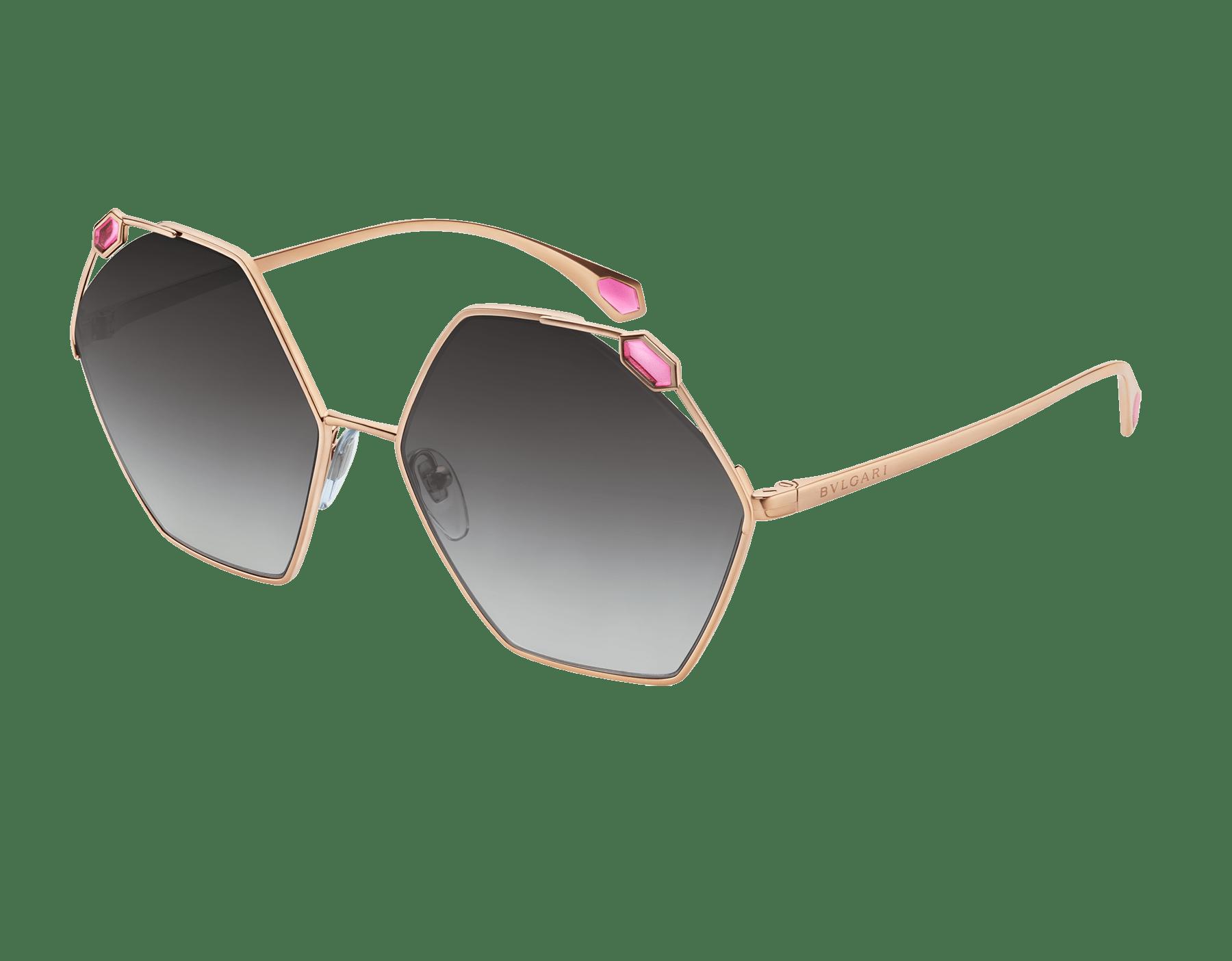 نظارات شمسية سيربنتي «ترو كولورز» معدنية سداسية الشكل 904067 image 1