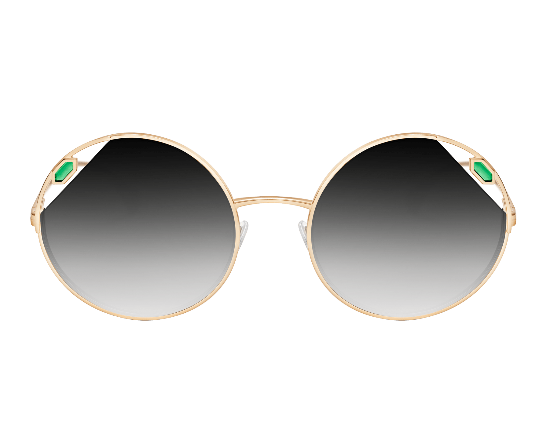 "Serpenti ""True Colors"" round metal sunglasses Truecoloursround image 2"