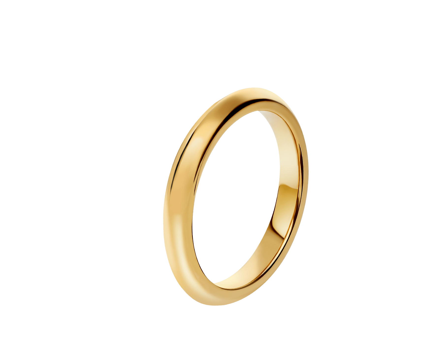 Fedi Wedding Band in 18 kt yellow gold Fedi-4 image 1