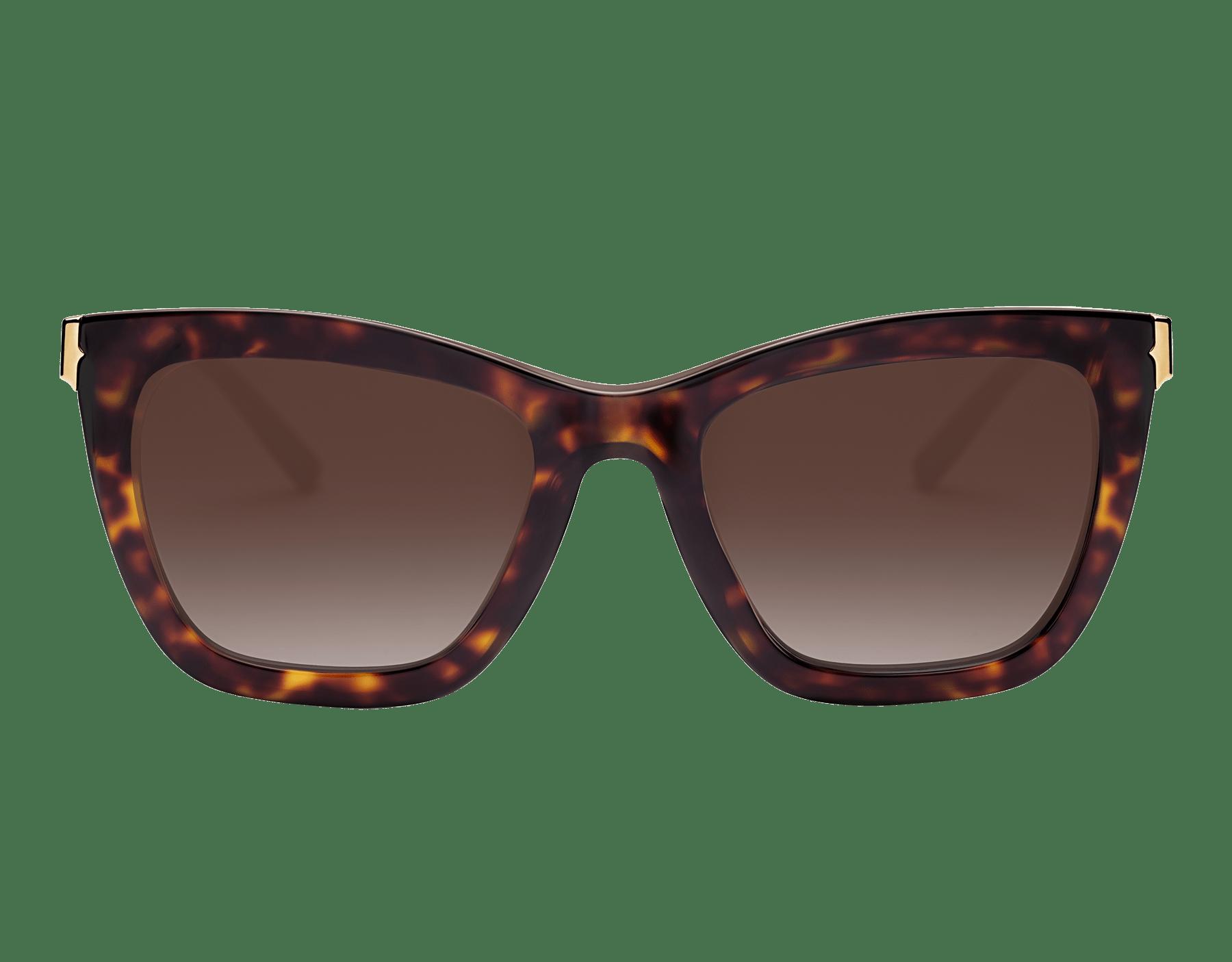 "B.zero1 ""Downtown"" rectangular acetate sunglasses 904076 image 2"