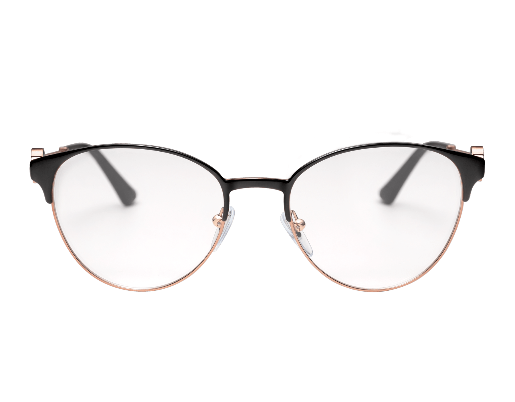 "Bvlgari Bvlgari ""On-Me"" round metal glasses. 904048 image 2"