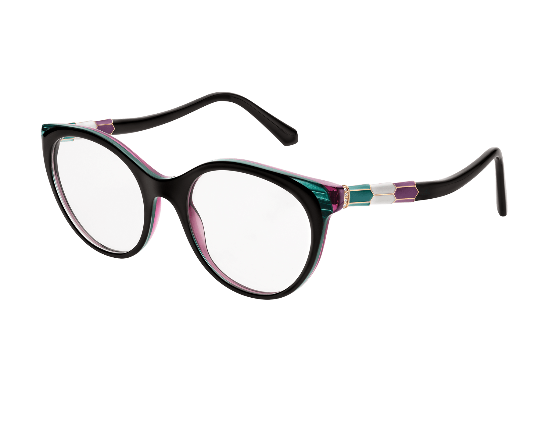 """Serpenti """"Back to Scale"""" acetate panthos glasses 904061 image 1"""