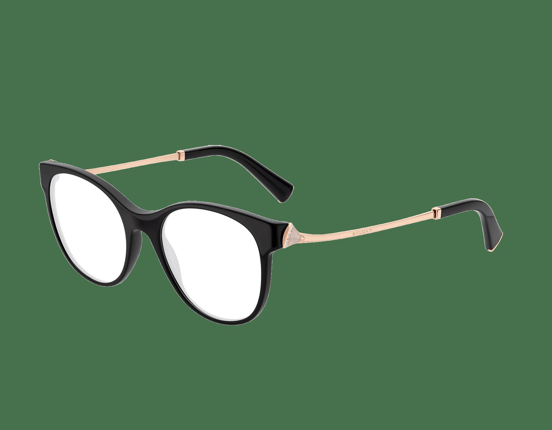 Occhiali da vista DIVAS' DREAM con montatura cat-eye in acetato. 903630 image 1