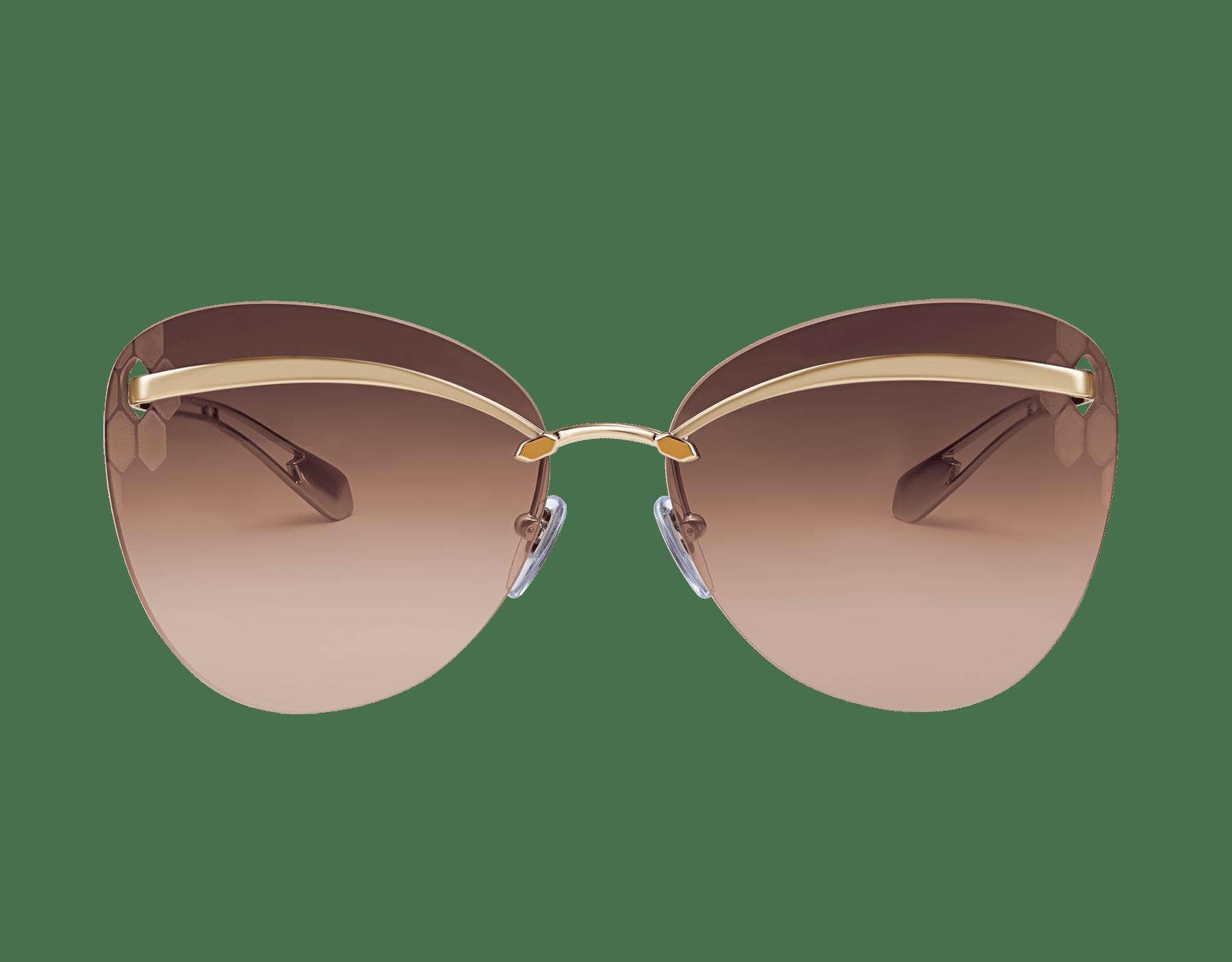 Bulgari Serpenti Flyingscale butterfly metal sunglasses. 903896 image 2