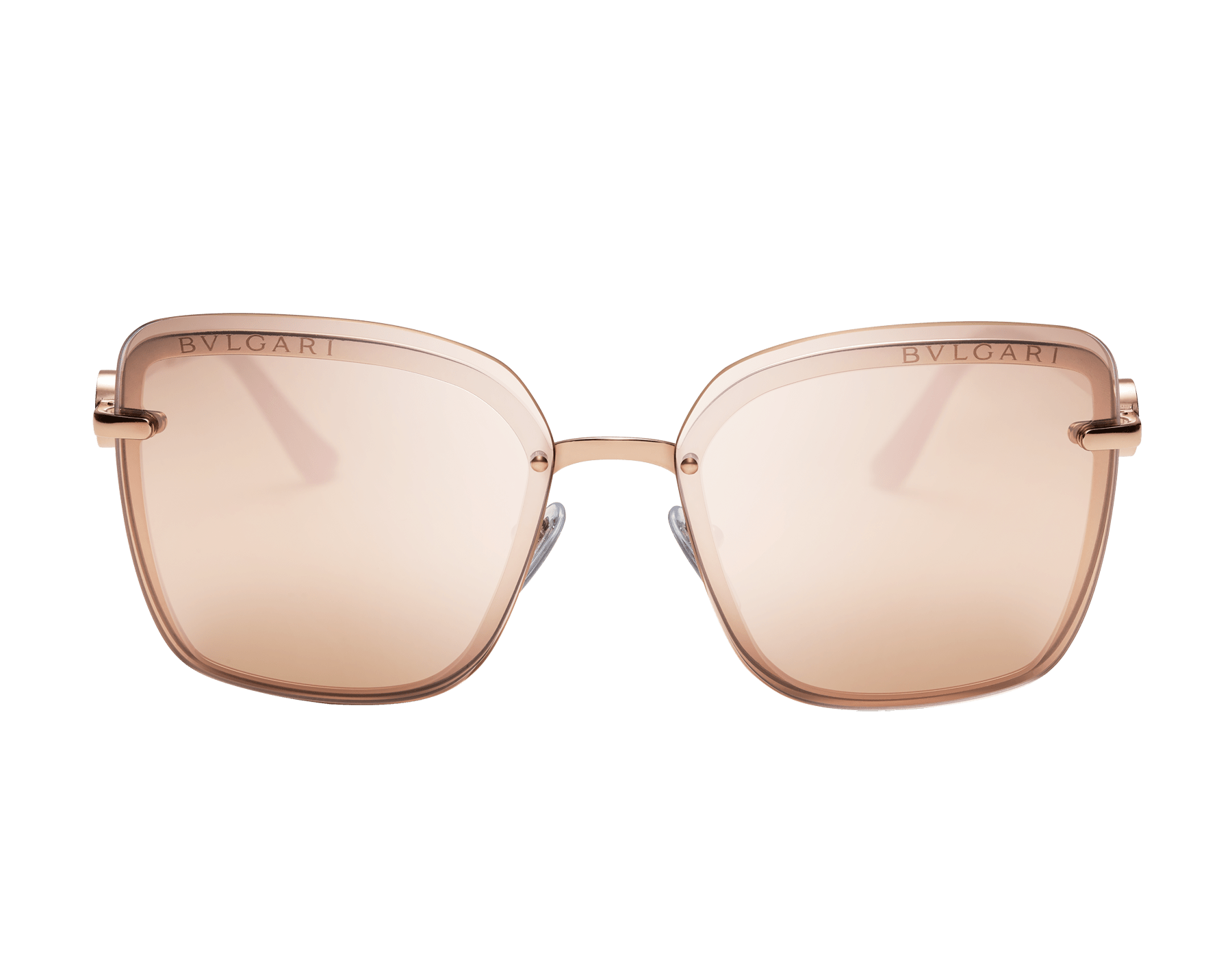 "Bvlgari Bvlgari ""On-Me"" metal square sunglasses. 904054 image 2"