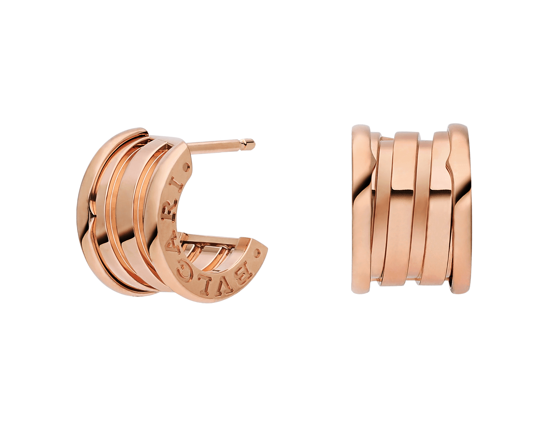 B.Zero Rose Gold Earrings