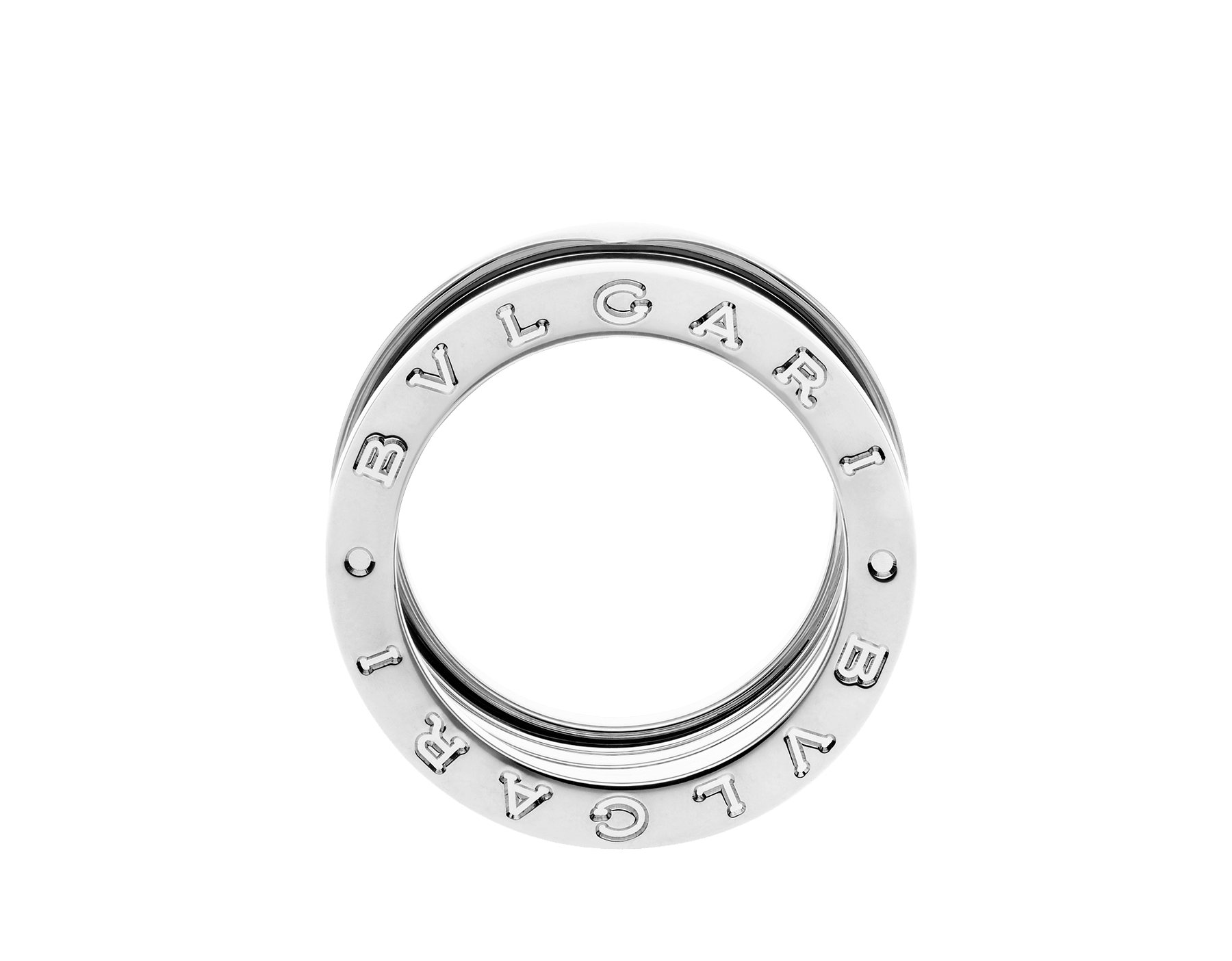 B.zero1 XXth Anniversary five-band ring in 18 kt white gold B-zero1-5-bands-AN858663 image 3