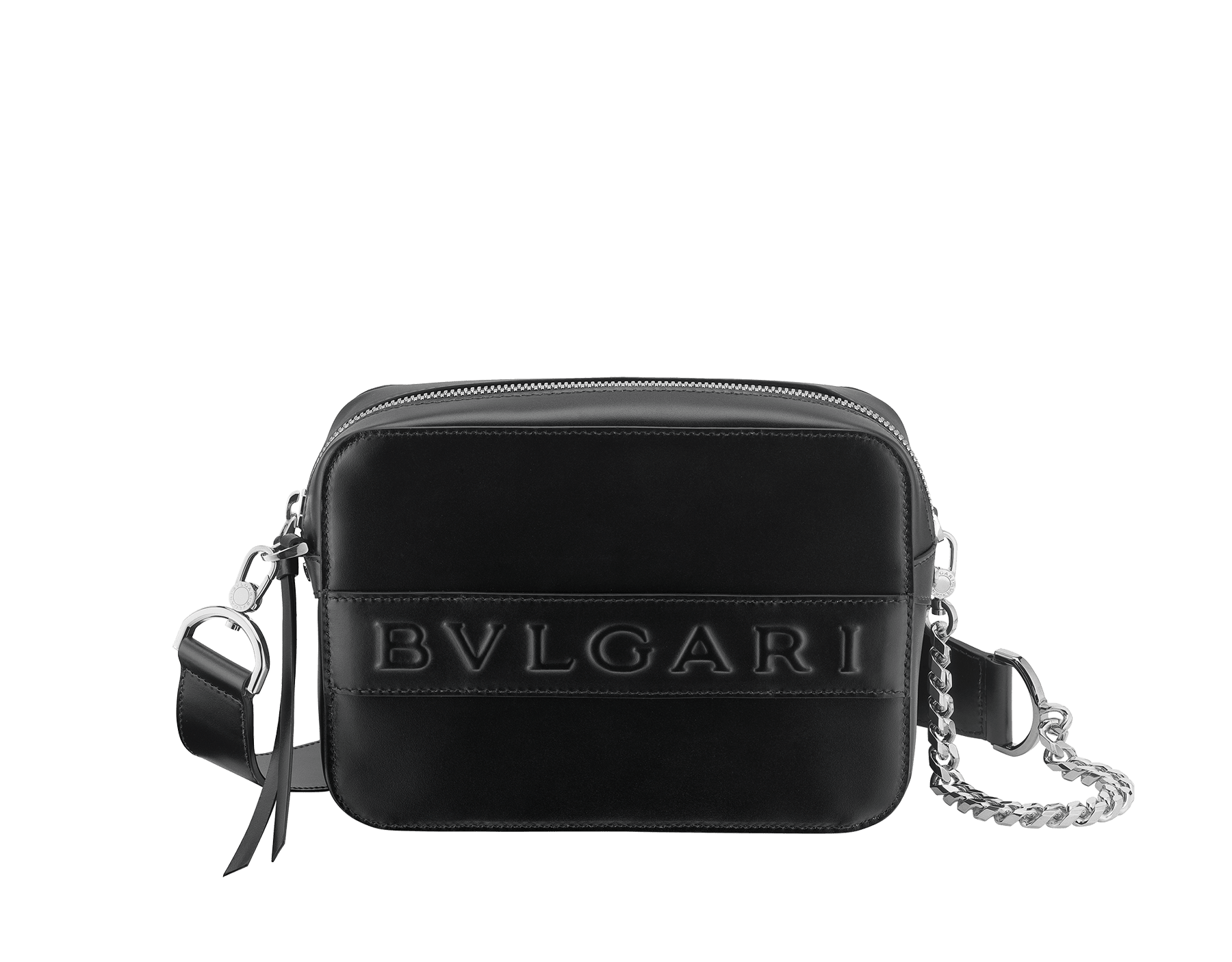 Bvlgari Logo Bag Black