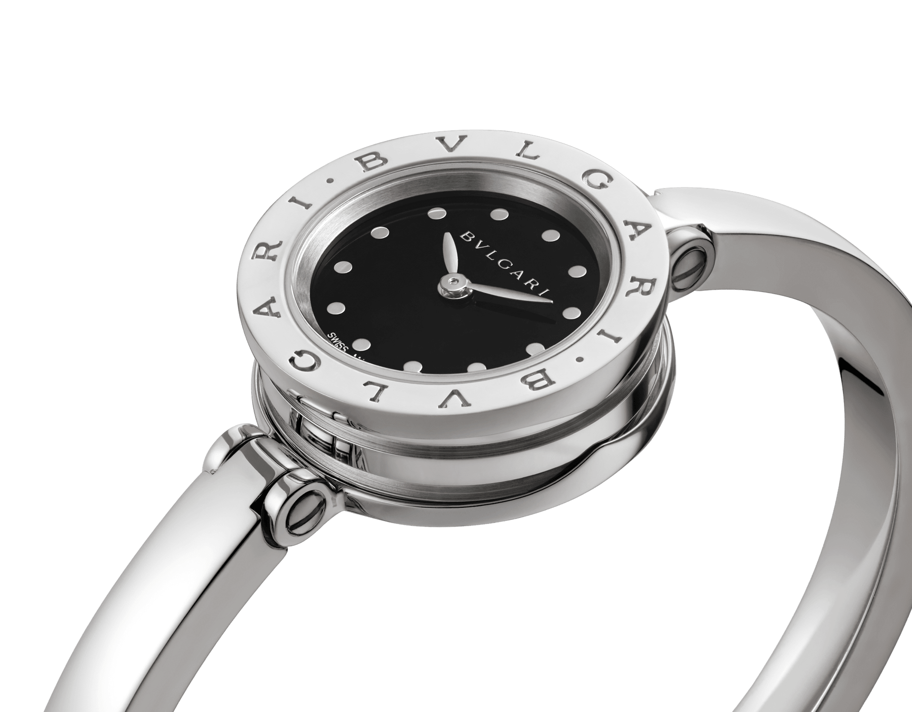 </BR/> B01watch-white-black-dial image 5