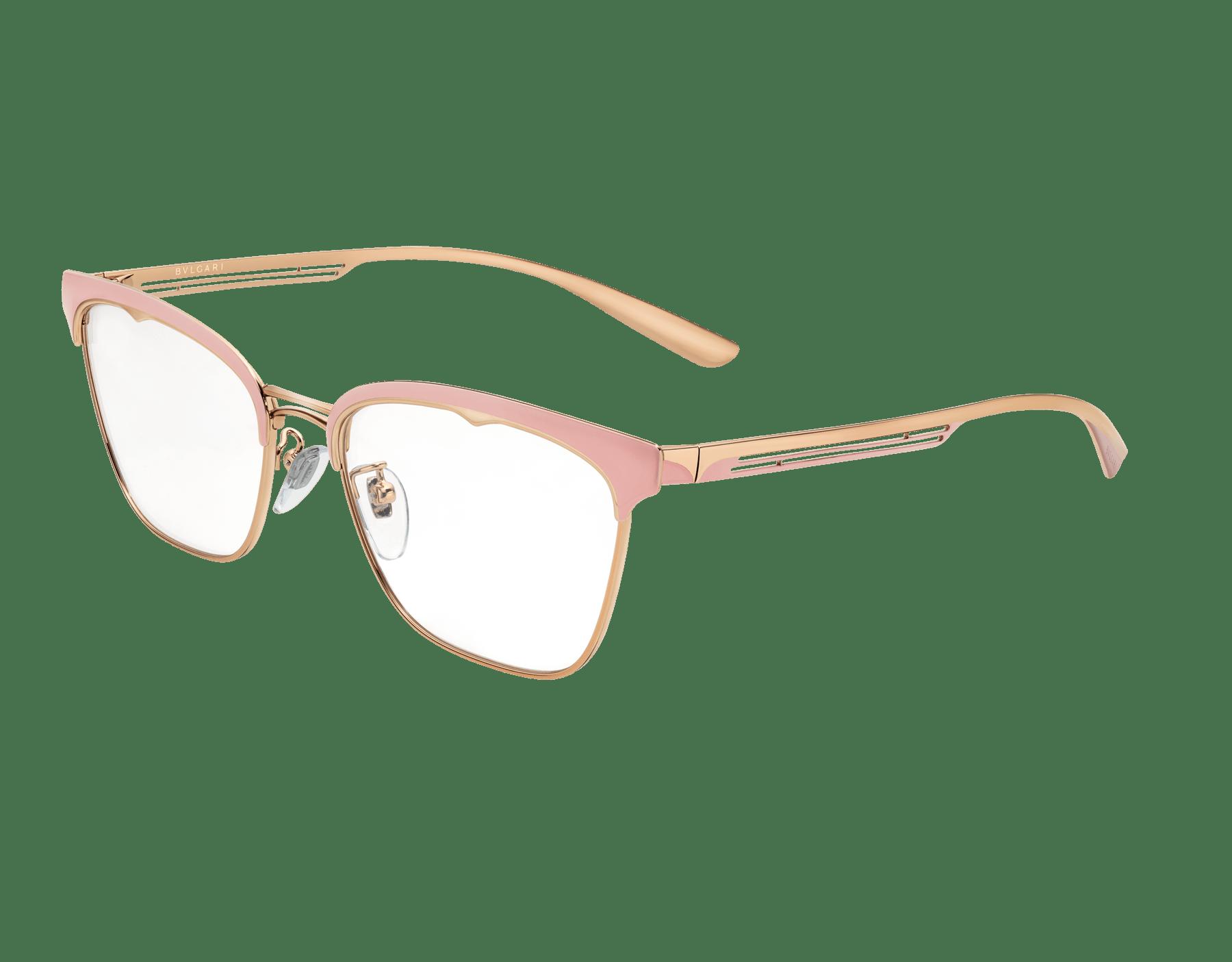 نظارات بولغري بي.زيرو1 بي.غلاسي-أب معدنية مستطيلة الشكل. 904015 image 1