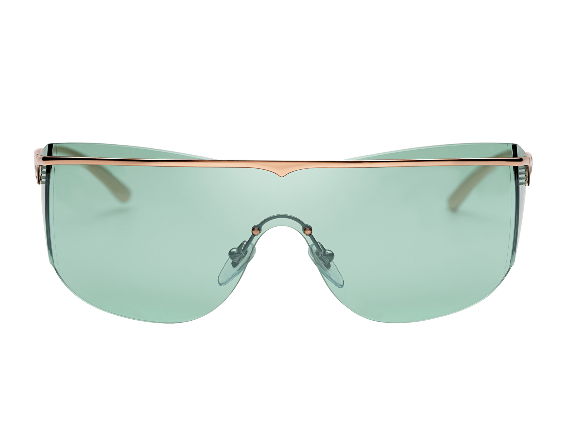 Bulgari B.zero1 B.supercurve metal shield sunglasses. 903967 image 2