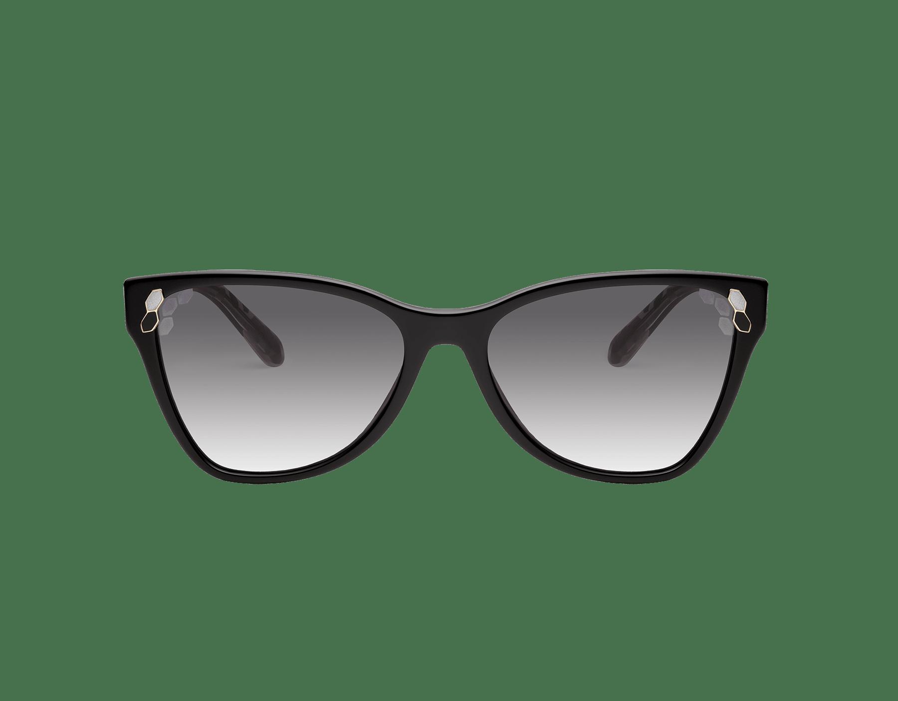 Óculos de sol Bvlgari Serpenti Powercandy com formato olho de gato em acetato. 903570 image 2